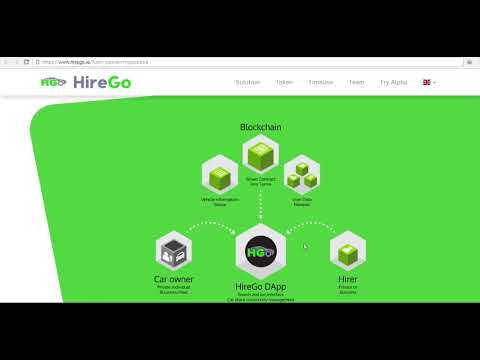 HireGo - Decentralised car hire & sharing platform