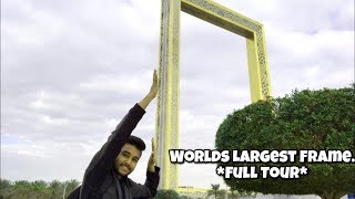 Dubai Frame- Worlds Largest Frame Building! Complete Tour.