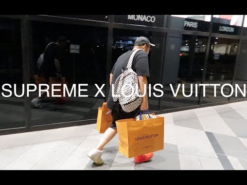 Supreme x Louis Vuitton release in Singapore (a Sneakerians Vlog)