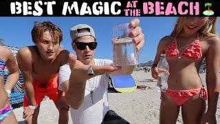 Street Magic at the Beach - Julien Magic
