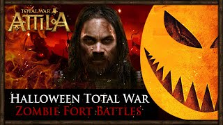 Halloween: Total War - Zombie Fort Battles w/ Warrior of Sparta
