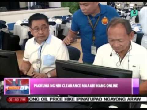 News@1: Pagkuha ng NBI clearance, maaari nang online  || May 19, 2015