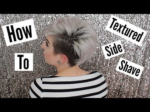 Textured Side Shave Style