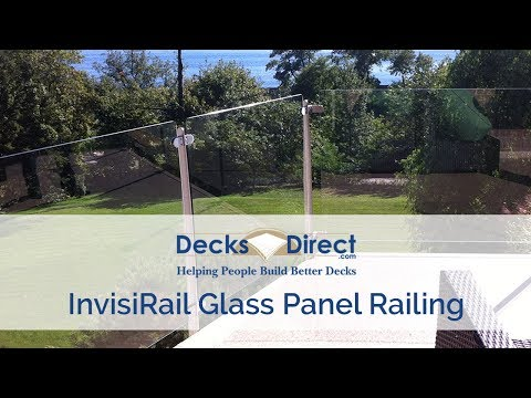 InvisiRail Glass Panel Railing System