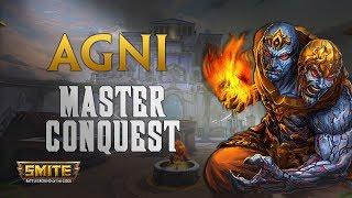 SMITE! Agni, De ADC mola igual :D! Master Conquest S5 #14