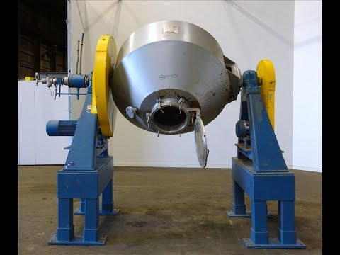 Used- Paul O. Abbe Rota-Cone Dryer, Model RCVD54, 304 Stainless Steel - stock # 48299001