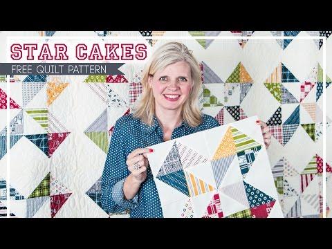 Star Cakes - Shortcut Quilt Series – Fat Quarter Shop