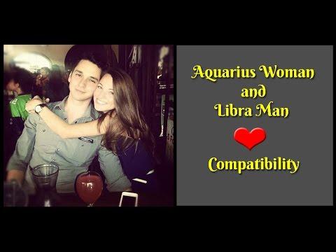 Aquarius Woman and Libra Man Love Compatibility