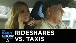 Uber and Lyft vs. Old-School Taxis   The Daily Show