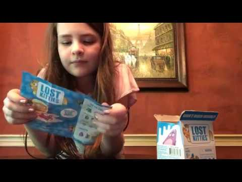 Lost Kitties Milk Blind Carton Opening And Review