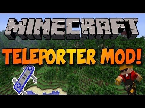 Minecraft: TELEPORTING MOD! (TF2 Teleporters)