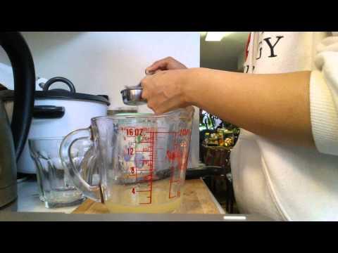 How to make lemonade with one lemon!