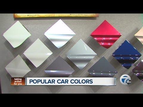 Popular car colors