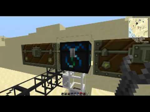 Tekkit help ep2: Quarry sorting system - pipe tutorial