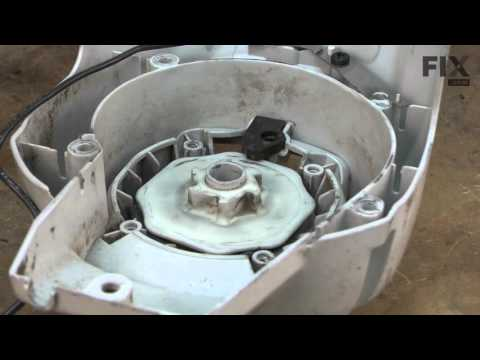 Ryobi Trimmer Repair - How to replace the Starter Rope