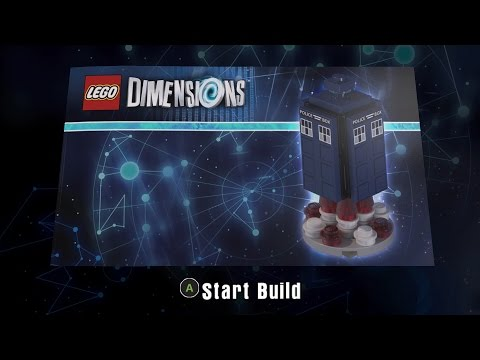 LEGO Dimensions 71204 Doctor Who Level Pack Energy Burst TARDIS Build 3 Instructions