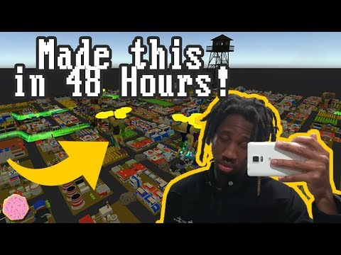 🖥️ Making A Game in 48 Hours!