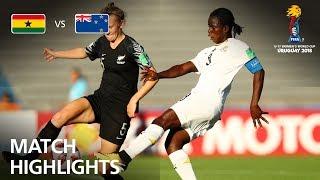 Ghana v New Zealand  - FIFA U-17 Women's World Cup 2018™ - Group A