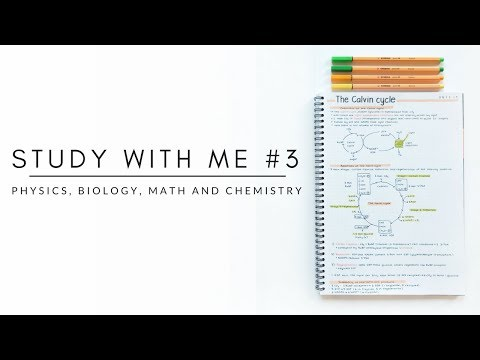 Study with me | Physics, biology, math and chemistry | studytee