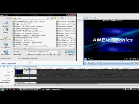 How To: Make A Professional Intro in Windows Movie Maker