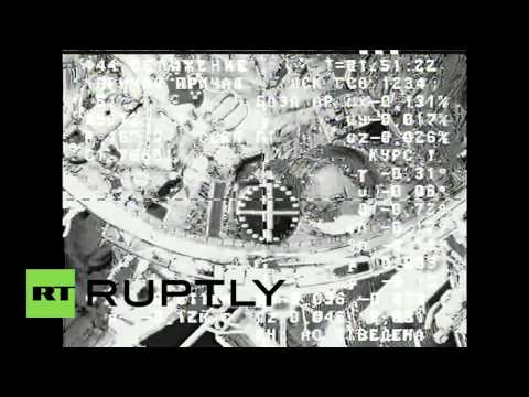 Space: Russian cargo ship docks at ISS
