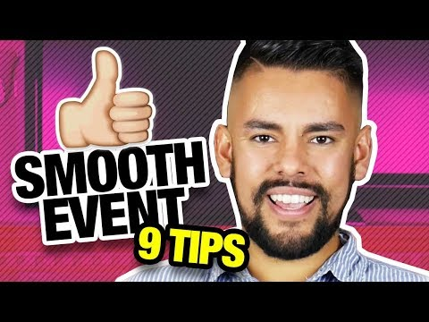 9 Tips for Running a Successful Event