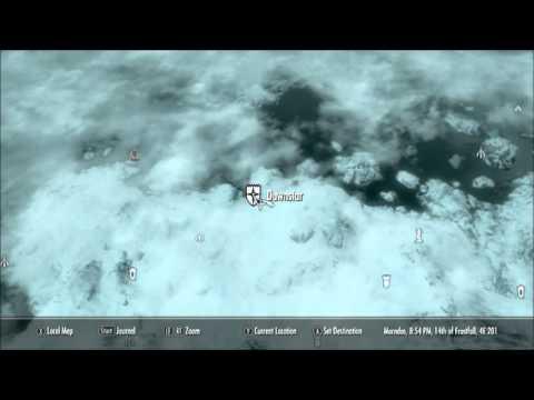 Skyrim: Hearthfire - Stone Quarry in Dawnstar