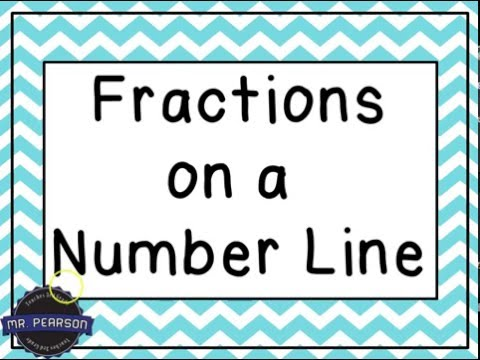 Fractions on a Number Line - Mr. Pearson Teaches 3rd Grade