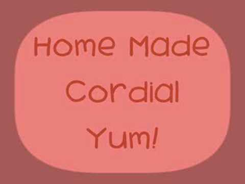 Home Made Cordial - Colour & Preservative Free