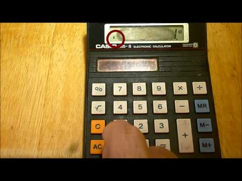 How to use cheap calculators to do compound interest