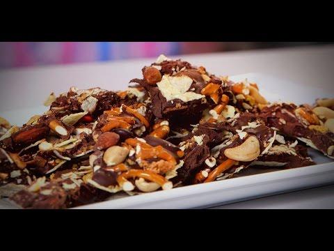 Easy Chocolate Bark Recipe | Just Add Sugar