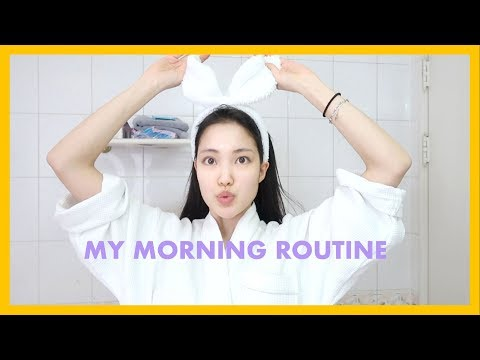 My Morning College Routine / First Day of School! (Korean university)
