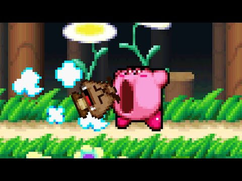 What would happen if Kirby inhaled a Goomba?