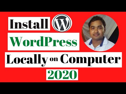 How to Install WordPress Locally Windows Computer XAMPP Localhost