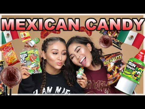 TRYING MEXICAN CANDY   Roxette Arisa
