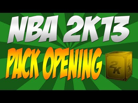 NBA 2K13 My Team 30,000 VC Pack Opening - MrZinc101 Method