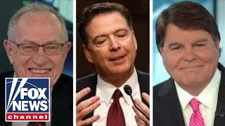 Alan Dershowitz, Gregg Jarrett on the release of Comey memos
