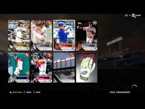 MLB 16 The Show DD Box Opening! 1st Diamond?