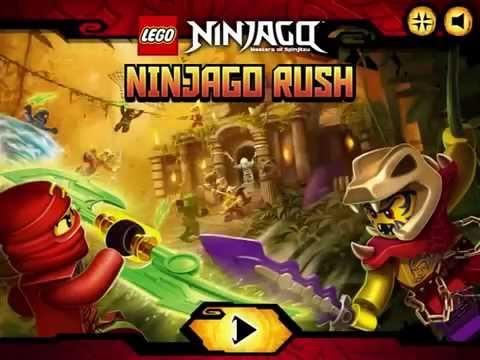 Ninjago Rush NEW Game - BEST Lego NINJAGO Games
