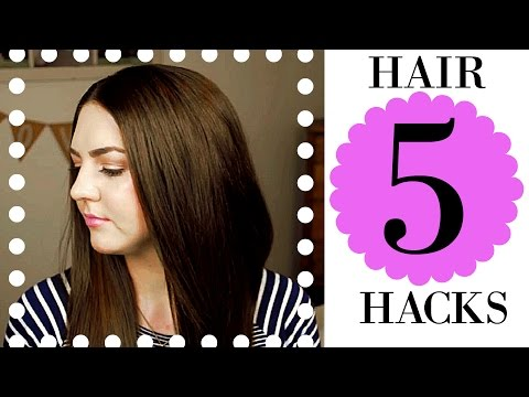   Hair Hacks #2    How To Get Sleek, Shiny, & Healthy Hair!