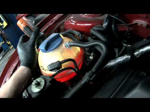 VW A4: Good Water Pump Flow at Idle