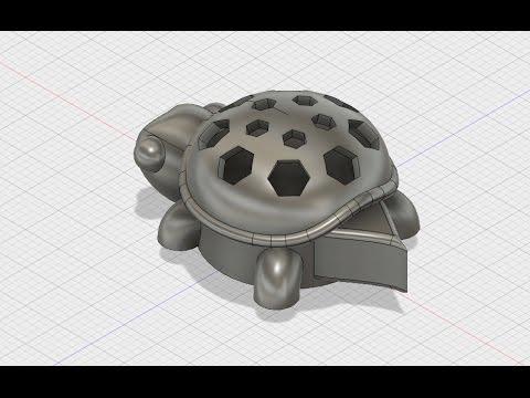 Design a Turtle Shell in Fusion 360
