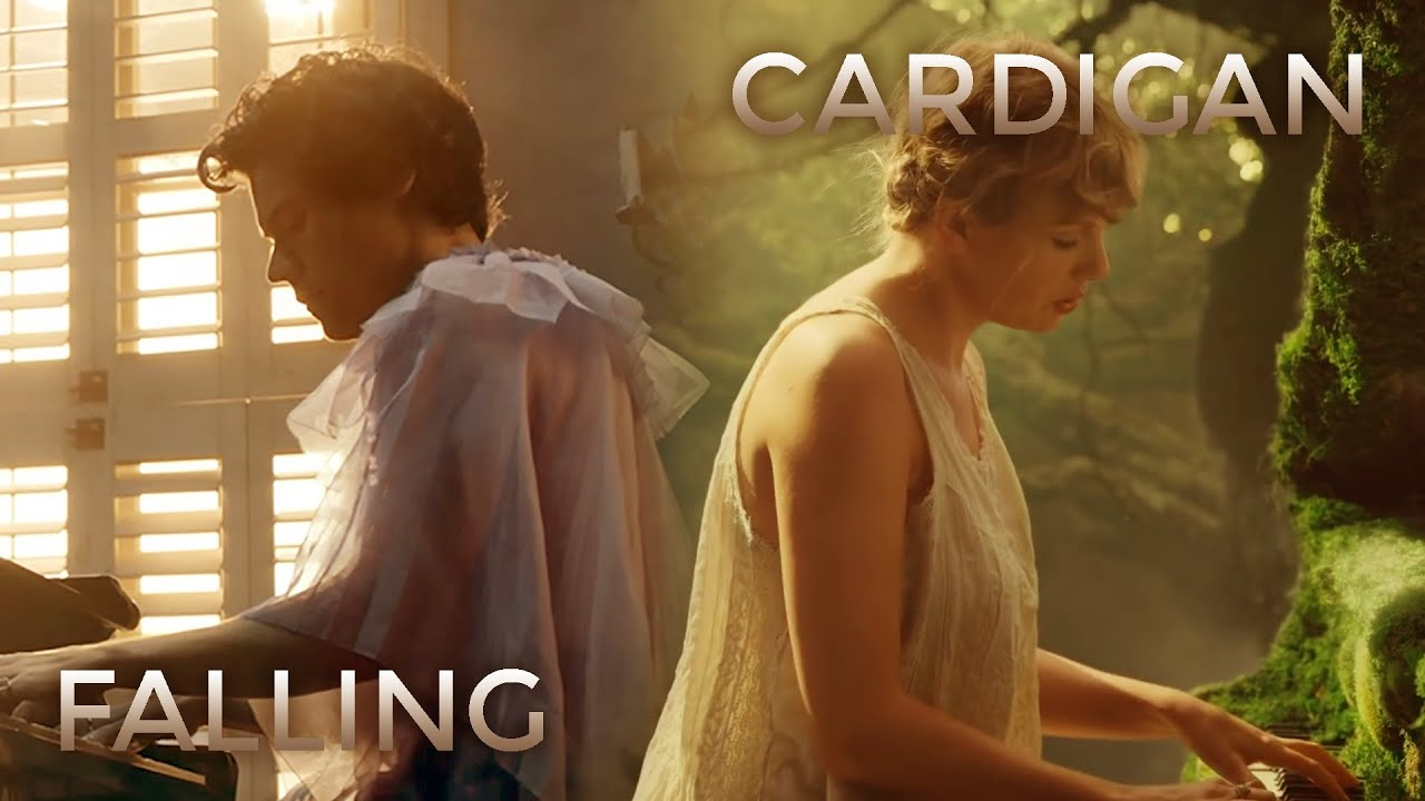 falling cardigan | Mashup of Taylor Swift, Harry Styles