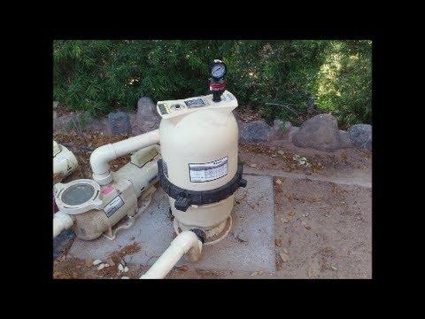 Cleaning a Pentair Clean & Clear CC50 - CC200 Filter