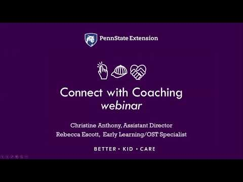 Connect with Coaching Webinar
