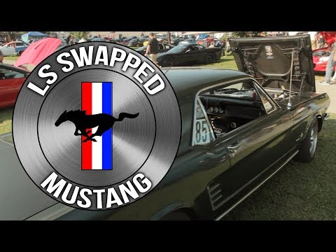 Mike Magnuson's LS Swapped 1966 Mustang - LS Fest