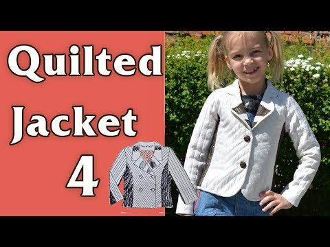 Quilted jacket, part 4/4