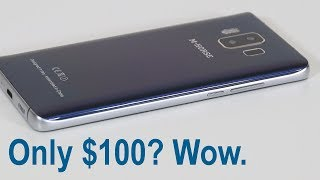 This Smartphone is $100. Looks like a Galaxy S8. How Good is it?