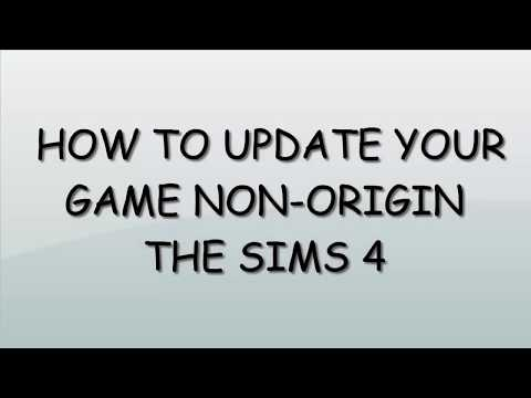 The sims 4 get latest update non-Origin