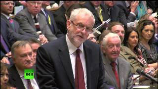 Corbyn hits out at May for not attending TV debates